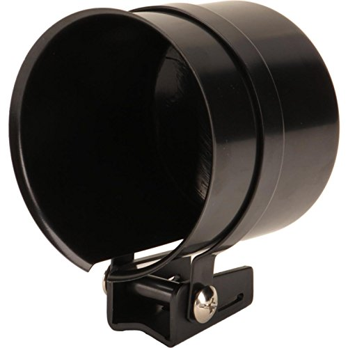 Column Mounting Bracket - Tachometer Mounting Cup for 3-1/8 and 3-3/8 Inch Gauges, Black