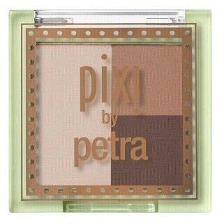 Brow Trio (PIXI by Petra Mini Brow Trio - Shades of Brow - Eyebrow Pressed Powder - Blonde & Brunette)