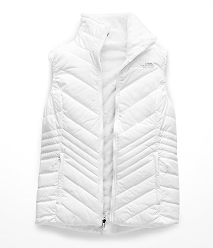 (The North Face Women's Mossbud Insulated Reversible Vest TNF White X-Small)