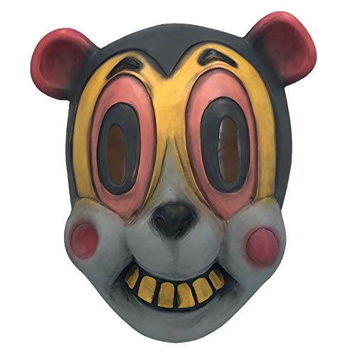 Hazel Latex Mask of The Umbrella Academy, Halloween Cartoonish Cat Masks Animal Helmet, Movies Costume Props -
