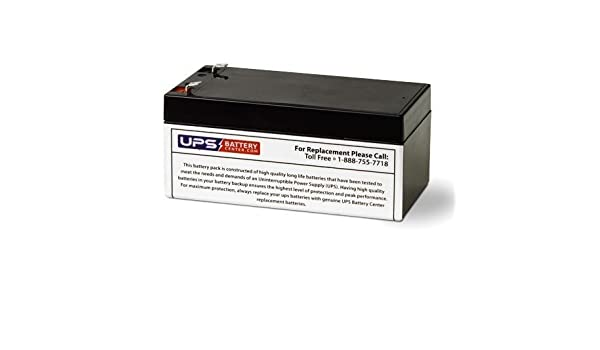 UPSBatteryCenter Compatible Replacement for Panasonic LC-R065P 6V 4.5Ah F1 Battery