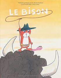 Le bison par Valckx