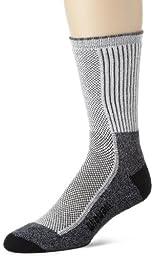 Wigwam Men\'s Cool-Lite Hiker Pro Crew Socks, Black, Large