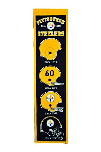 NFL Pittsburgh Steelers Heritage Banner