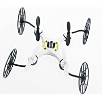 Night lions Tech (TM) JC Mini Drone 2.4GHZ 6-Axis Gyro RC Quadcopter Black & Golden