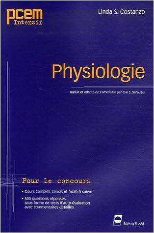 pcem physiologie gratuit