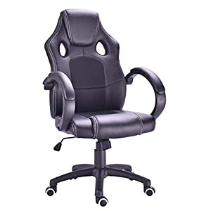 Millhouse New Designed Racing Sport Swivel Office Gaming Chair X2710S (Black)
