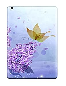 Anti-scratch And Shatterproof Flower S Phone Case For Ipad Air/ High Quality Tpu Case