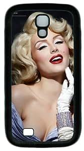 DIY Rubber Material Black Samsung Galaxy S4 I9500 Case America Actress Marilyn Monroe