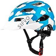 SIFVO Kids Bike Helmet, Youth Roller Skate Helmet,Bicycle Helmets Sports Helmets for Boys and Girls Aged 5-13