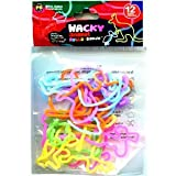 Rubba Bandz Shaped Rubber Bands 12Pack Wacky Animal Shapes