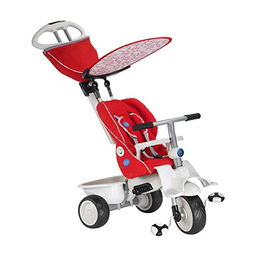 Smart Trike Recliner 4-in-1 Tricycle, Red
