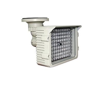 CMVision IR110 - 114 LED Indoor/Outdoor Long Range 200-250ft IR Illuminator With 2A 12VDC Adaptor