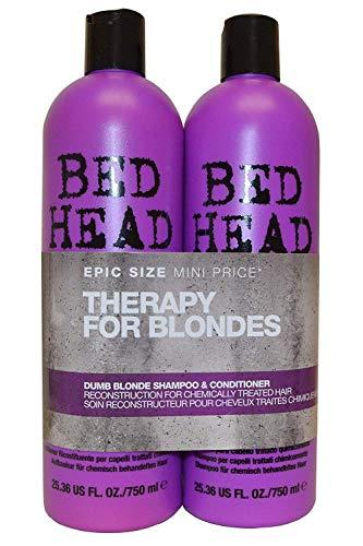 Tigi Bed Head Dumb Blonde Tween Duo (2X750ml)