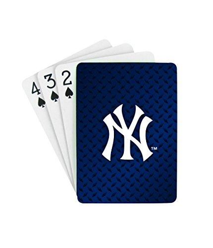 Pro Specialties Group MLB New York Yankees Diamond Plate Playing Cards (Ny Yankees Diamond)