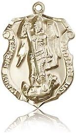14ktゴールド聖ミカエル・メダル