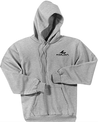 a0e94e8520235 Koloa Surf.(tm) - 2 Side Wave Logo Hoodies-Hooded Sweatshirt-Ash/b-5XL -  Buy Online in Oman. | Apparel Products in Oman - See Prices, Reviews and  Free ...