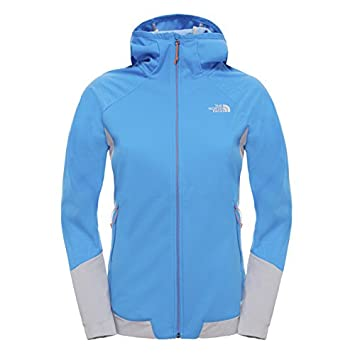 87609de2e North Face Women's Aterpea Full Zip Hoodie Sweatshirt - Blue/Clear ...