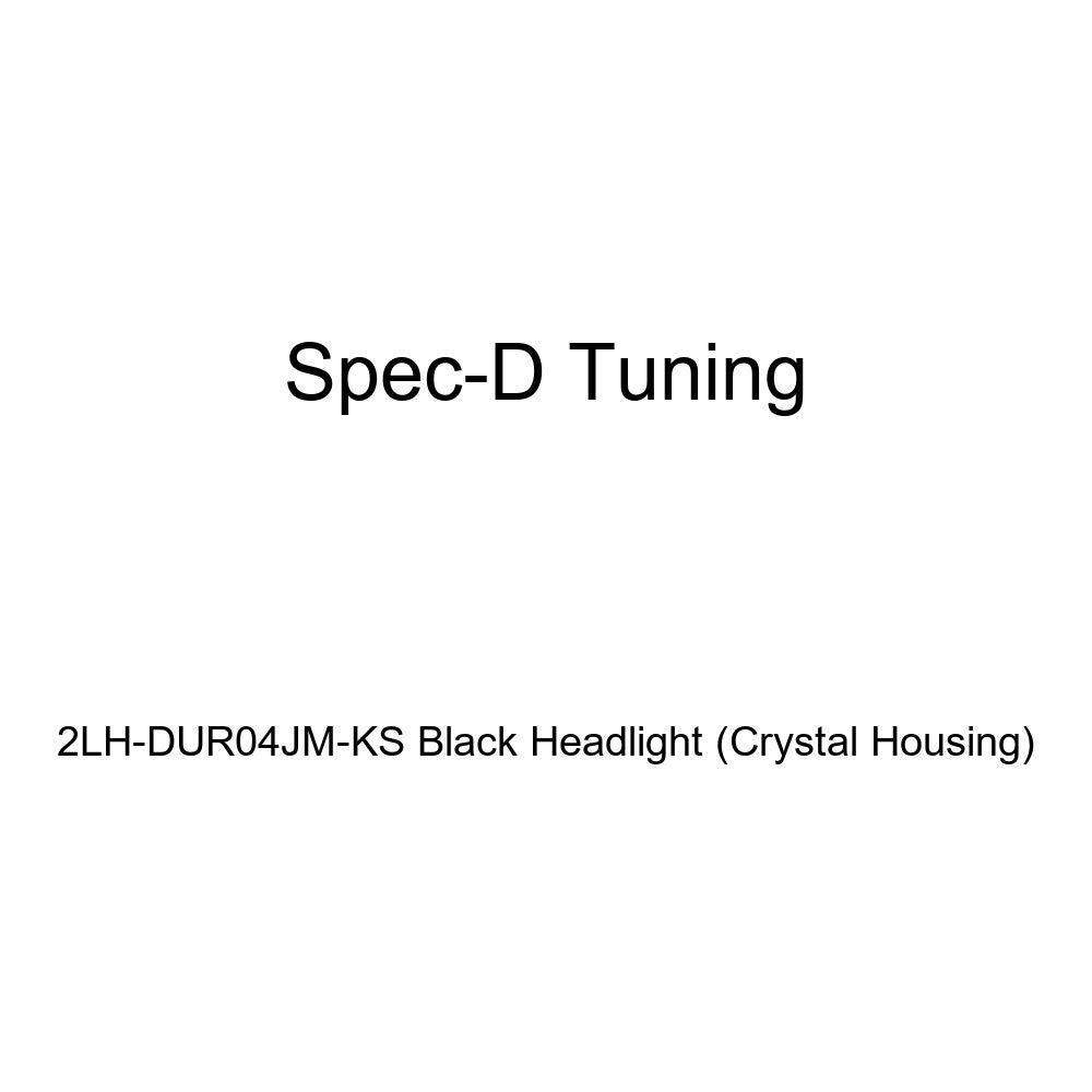Crystal Housing Spec-D Tuning 2LH-DUR04JM-KS Black Headlight