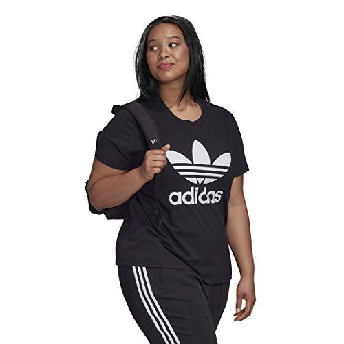 adidas Originals Women's Plus Size Trefoil Tee 6