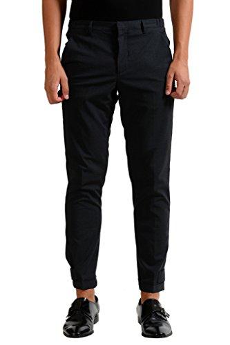 Prada Men's Charcoal Wool Dress Pants US 28 IT 44;