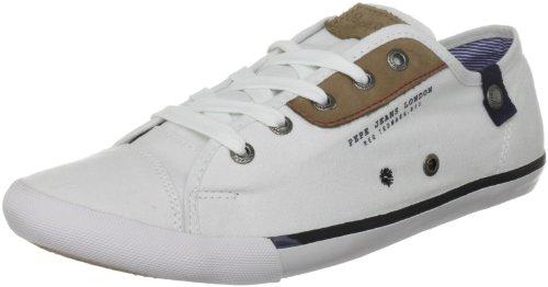 Pepe Jeans London BT-250 B, Herren Sneaker Weiß (White)