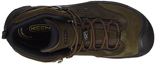 Keen Herren Wanderer Mid WP Trekking-& Wanderstiefel Braun (Cascade Brown/bossa Nova Cascade Brown/bossa Nova)