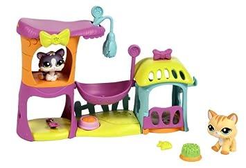 Littlest Pet Shop Hasbro Casita de Juegos Gatitos - Casa de ...