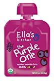 ella kitchen - Ella's Kitchen Organic Smoothie Fruits, The Purple One, 3 Ounce (Pack of 6)