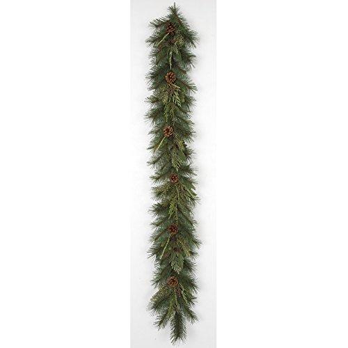 Artificial Timbercode Pine Cone, Cedar, Juniper & Bay Leaf Garland