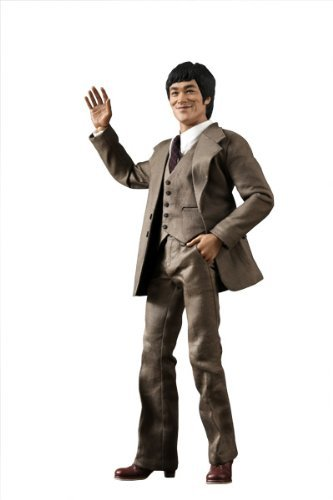 Hot Toys Movie Masterpiece Icon 1/6 Scale Collectible Figure Bruce Lee in 70s Suit