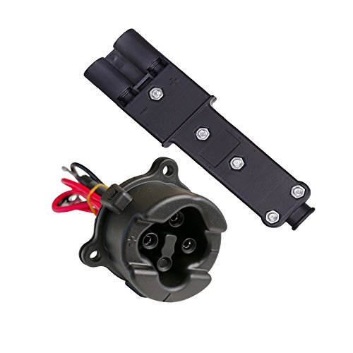 Fat Dragon GOLF 48V MAC DC Charger Plug JR1-H235A-00+JW9-H6181-00 Powerwise Receptacle for Yamaha Electric 2011-2017 G29