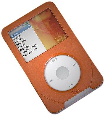 Silicone Iskin - iSkin Sienna Orange evo4 Duo Case for iPod Classic, 80GB/120GB