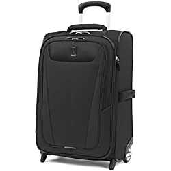 "Travelpro Maxlite 5 22"" Expandable Rollaboard Carry-on Suitcase, Black"