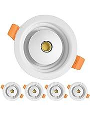 LED Downlight, Ceiling Lamp 8W 3CCT 3000K/6500K/4500K Change Recessed Ceiling Lighting for Kitchen,Living Room,Bathroom