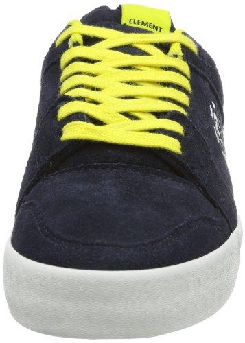 Element HEATLEY EHTYP102A6683 - Zapatillas de cuero para hombre, color azul, talla 39 Azul (Blau (NAVY LIME 6683))