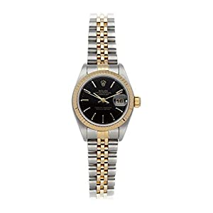 Best Epic Trends 41EdGmVM8JL._SS300_ Rolex Datejust Mechanical (Automatic) Black Dial Womens Watch 79173 (Certified Pre-Owned)