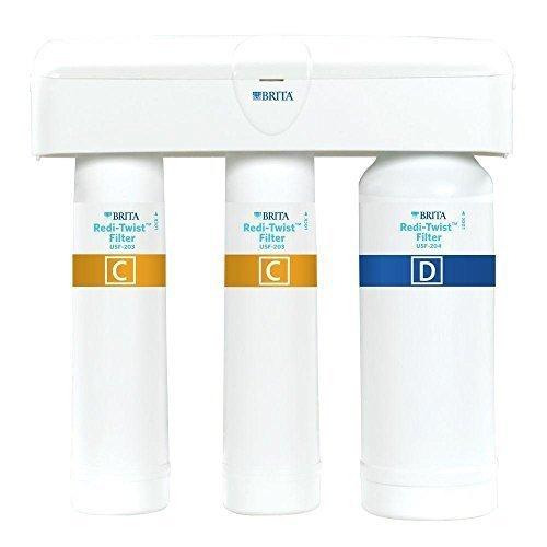 Brita Redi-Twist Purifier 3-Stage Drinking Water Filtration System