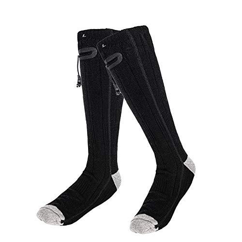 ADDFOO Verwarmde sokken elektrische verwarming sokken winter warme sokken voor mannen vrouwen camping vissen fietsen…