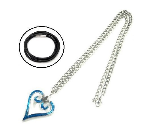 Kingdom Hearts logo design type necklace crown crown Sora Roxas Kingdom Hearts custom already thickness: 3mm length: 45cm one-touch rubber with choker by kingdomhearts