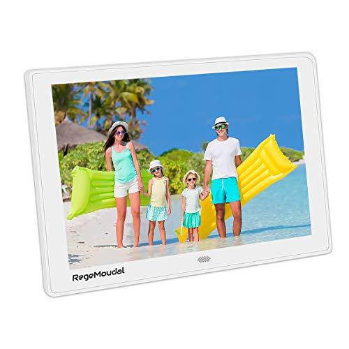 10 Inch Digital Photo Frame, RegeMoudalDigital Frame with High Resolution 1280800 IPS LCD Panel Support 128G SD Card/USB Stick Various Display Modes 1080P (Best Digital Frame 12 Inch)