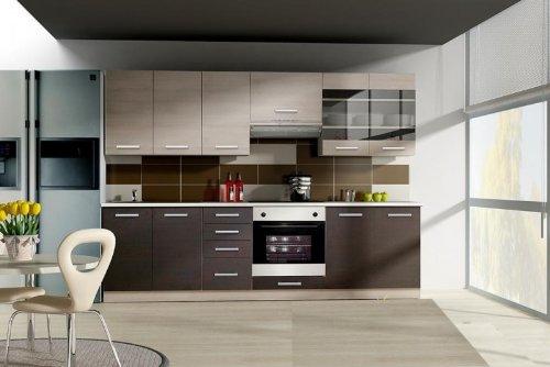 Wiktoria Kitchen Set Unit 260 Cm Kitchen Counter Adjustable In Oak
