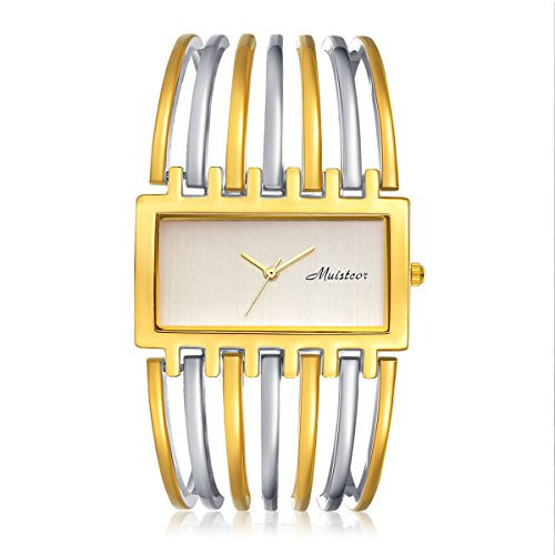 3d6d08667d421 Women Luxury Silver Bangle Watch Fashion Stainless Automatic Watch ...