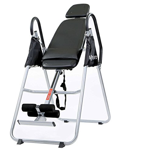New Folding Inversion Table - Anti Gravity Back Fitness Therapy Relief by Inversion Tables