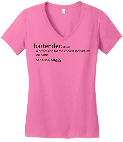 Bartender Funny Definition Badass Juniors