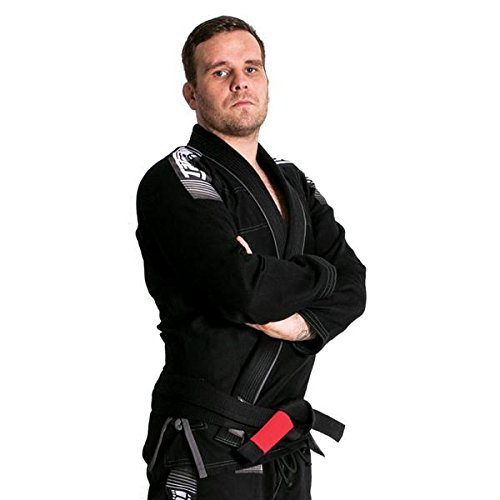 'Tatami BJJ Gi–Black–New Collection Nova MK42017/18Mens Adult BJJ Gi Jiu Jitsu Kimono Suit With White Belt Tatami Fightwear