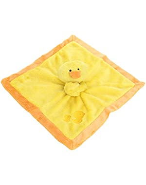 Gerber Unisex Baby Velboa Security Blanket, Duck
