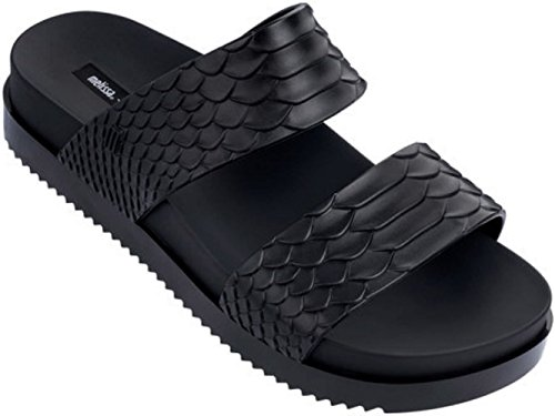 Melissa Women's x Baja East Cosmic Slides, Black, 5 M US