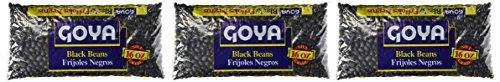 Goya Black Beans Dry 1Lb (3-Pack)