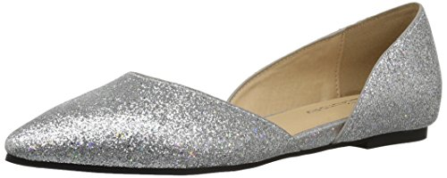 - CL by Chinese Laundry Women's Hearty Ballet Flat, Platinum Glitter, 7 M US
